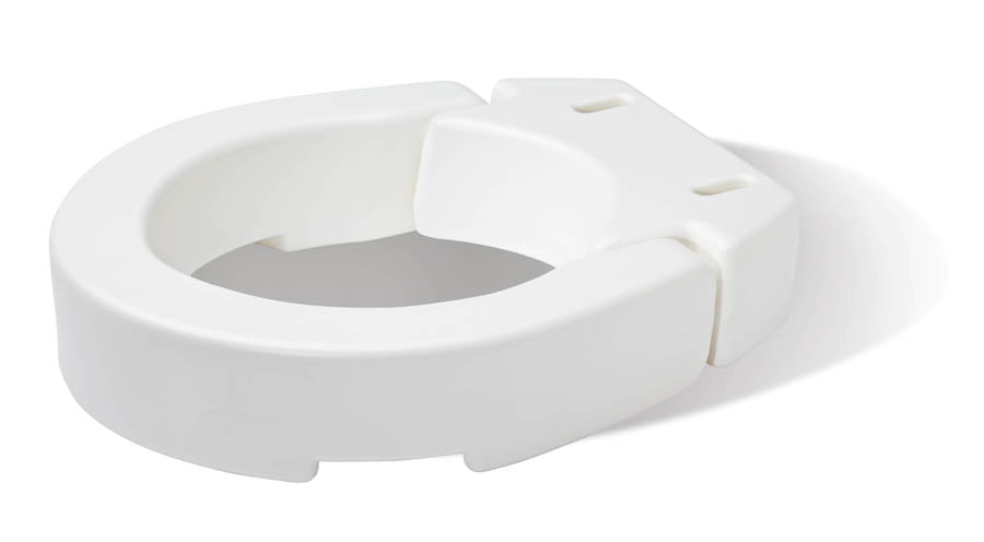 Remarkable Carex Hinged Toilet Seat Riser For Standard Toilet Seats Adds 3 5 Inches To Toilet Height White Walmart Com Alphanode Cool Chair Designs And Ideas Alphanodeonline