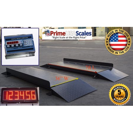 Unattended Automatic Truck Axle Scale System - Axle Scale - Truck Scales (Scale Axle)