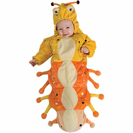 Caterpillar Bunting Infant Halloween Costume, Size 0-6 Months - Newborn Caterpillar Costume