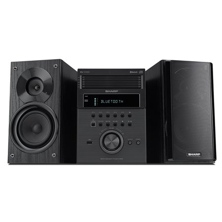 Sharp 5 Disc Bluetooth Hi-Fi Home Audio Stereo Sound System Cd Player](micro stereo systems ratings)