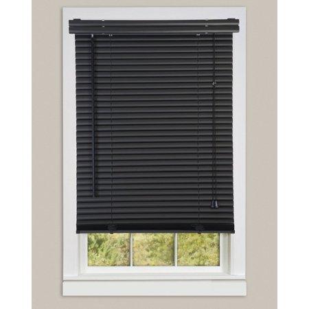 Mini Window Blinds 1 Quot Slats Black Venetian Vinyl Blind