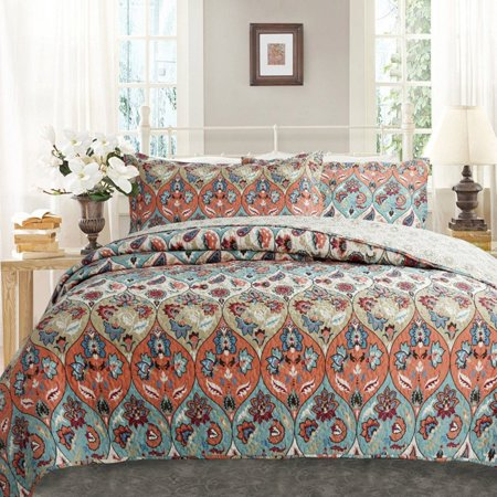 Garden Party Quilted Bedspread Set by DaDa Bedding Collection