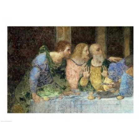 Posterazzi BALBAL230516 The Last Supper Post Restoration Poster Print by Leonardo Da Vinci - 24 x 18 in. - image 1 de 1