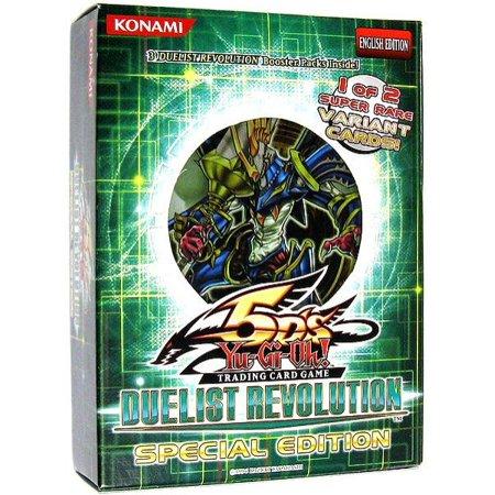 Duelist Revolution Special Edition Pack 3 Booster Packs & 1 Random Promo Card (Revolution Card Game)