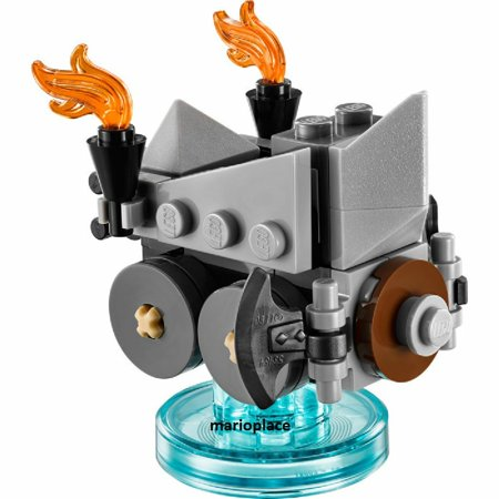 Lego Dimensions Lord Of The Ring 71220 Axe Chariot & Base Only Minifigure