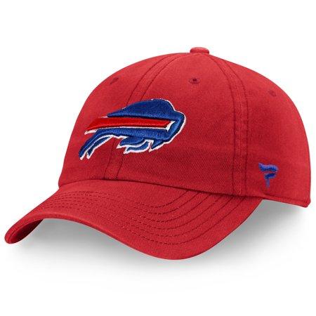 Buffalo Bills NFL Pro Line by Fanatics Branded Turbo Adjustable Hat - Red - OSFA (Buffalo Bills Hats Red)