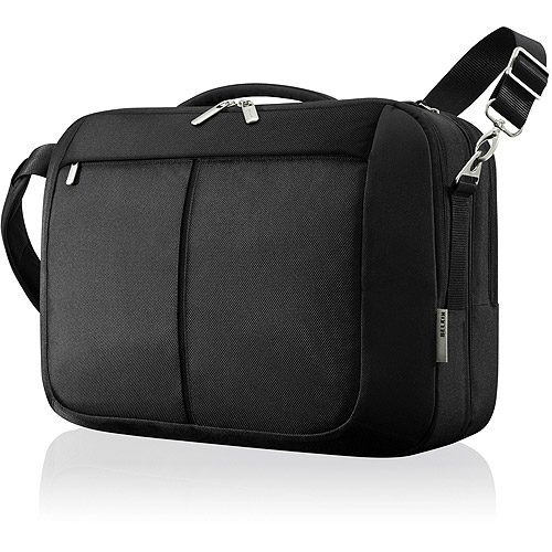 "BELKIN 15.6"" MESSENGER BAG - CHECKPOINT FRIENDLY"