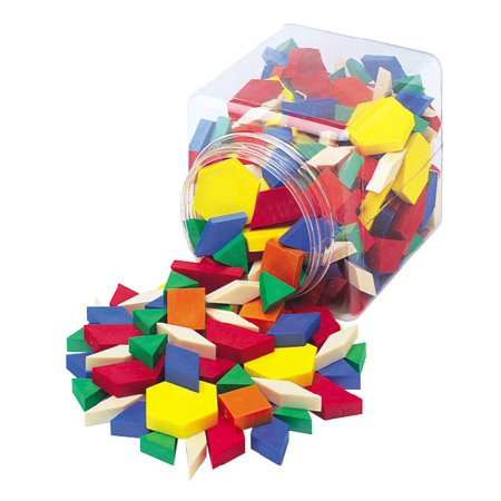 (School Smart Hollow Pattern Block Set)