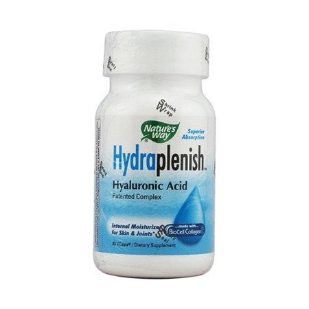 Natures Way Hydraplenish Acide Hyaluronique complexe breveté Capsules - 30 Ea