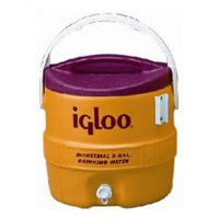 3 Gallon; Yellow/Safety Red Industrial Water Cooler