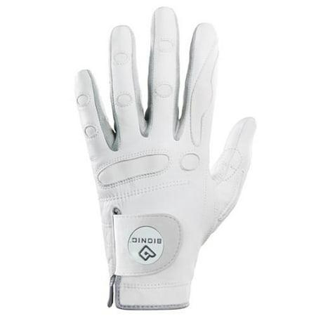 Bionic Gloves GGZWLM PerformanceGrip With Ball Marker Womens Left Golf Glove White - Medium