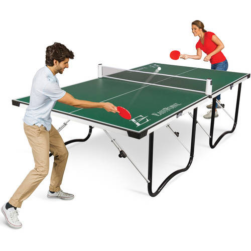 EastPoint Sports Easy Setup Fold 'N Store Table Tennis Table – 15mm Top