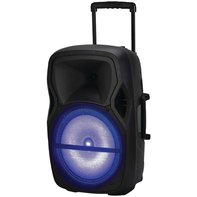 "Naxa NDS-1503 Portable BluetoothDJ/PA Speaker (15"", 1800W peak power)"