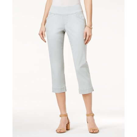 - Jag Marion Pull-On Skinny Colored Cropped Jeans