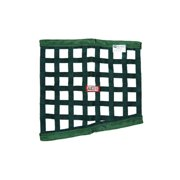 RJS Racing Equipment 10-0001-09-00 Ribbon Drag Net 6 And 8 Point Roll Bar SFI 27.1, Green
