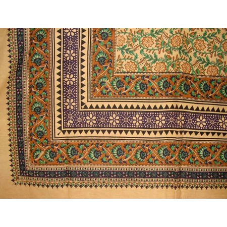 - Turkish Floral Print Tapestry Cotton Spread 106