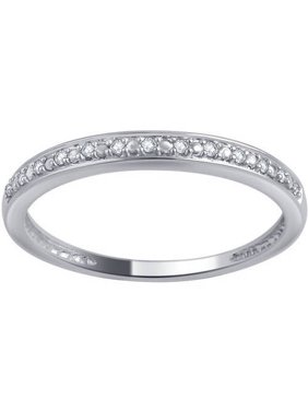 618ad32f2a65fd Product Image 10kt Gold Round Diamond Accent Wedding Band