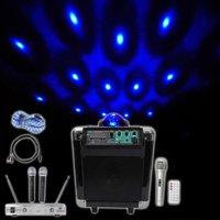 "NYC Acoustics Pro 6.5"""" Karaoke Machine/System 4 ipad/iphone/Android/Laptop/TV"