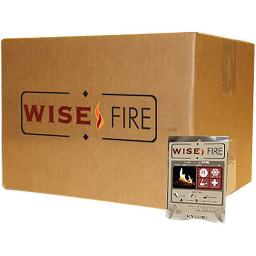 WiseFire Fire Starter Pouches, 15 count by Wise Company, Inc