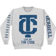 Terror Men's  The Code Ash Grey Sweatshirt Grey