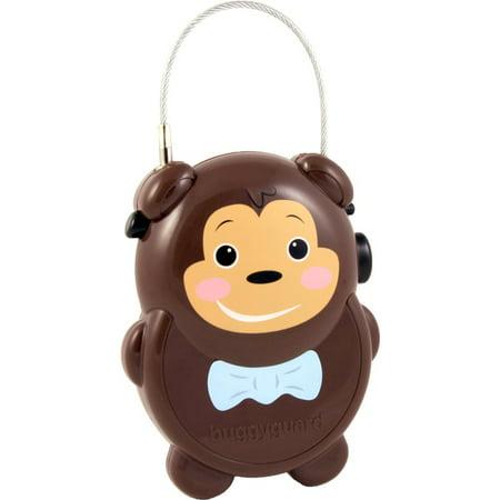 Diono Stroller Lock - Buggygear™ buggyguard® Anti-Theft Retractable Stroller Lock, Monkey