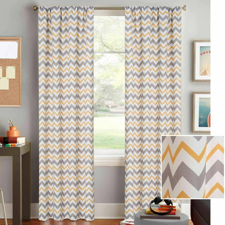 Better homes and gardens chevron curtain panel Better homes and gardens curtains