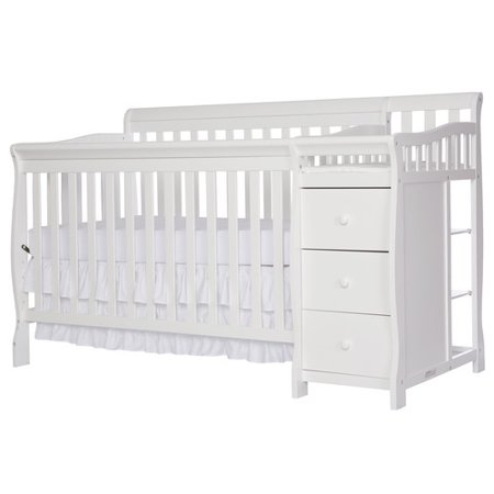 Dream On Me Brody 5 In 1 Convertible Crib White Walmart Com