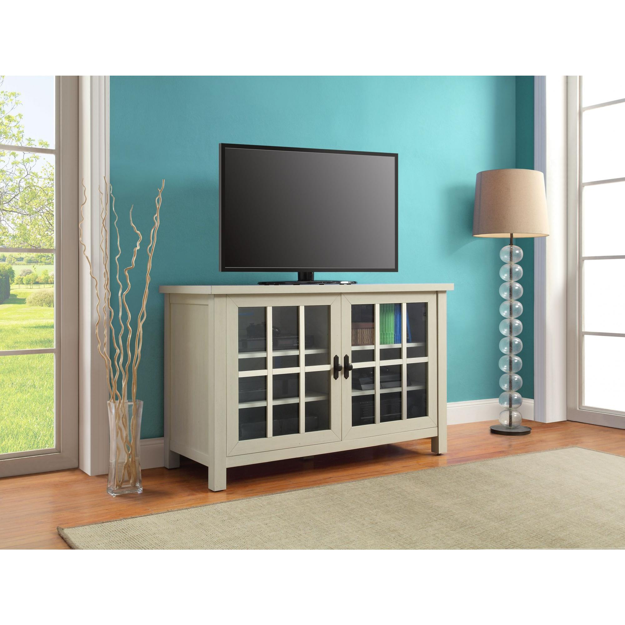 "Free Shipping. Buy Better Homes and Gardens Oxford Square TV Console for TVs up to 55"" at Walmart.com"