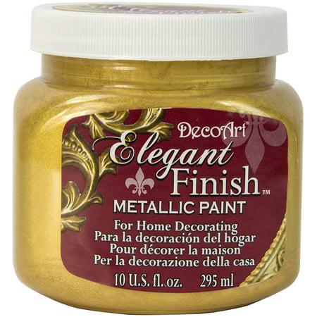 Elegant Finish Metallic Paint 10oz-Splendid Gold