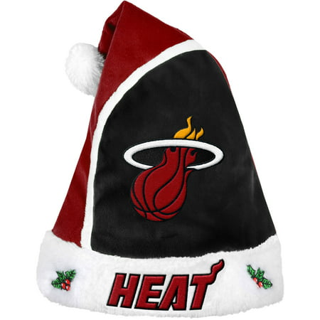 Forever Collectibles NBA 2015 Santa Hat, Miami Heat