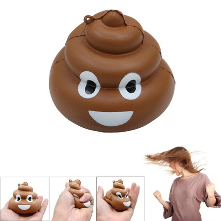 Squishy Crazy Stool Squeeze Poo Slow Rising Fun Toy Relieve Stress Cure Decor - Squishy Stores