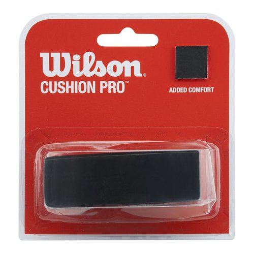 Wilson Sporting Goods Cushion Pro Replacement Racket Grip, Black by Wilson Sporting Goods