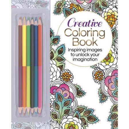 - The Creative Coloring Book (Book & Colored Pencils Set) : Inspiring Images to Unlock Your Imagination