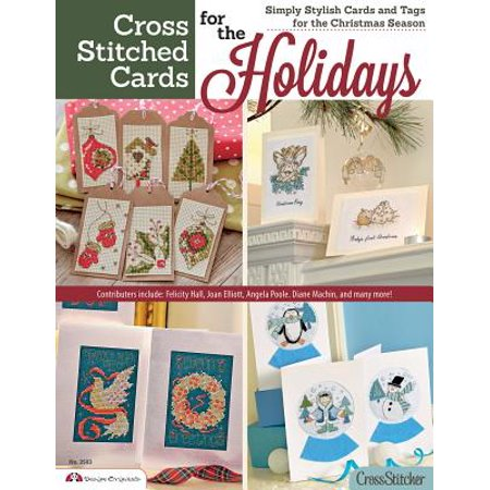 Cross Stitched Cards for the Holidays : Simply Stylish Cards and Tags for the Christmas Season ()