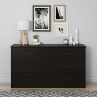 Deals on Mainstays 6 Drawer Dresser 5259303COM