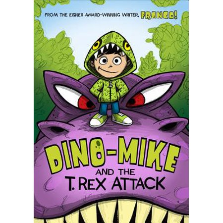 Dino-Mike and the T. Rex Attack - How Tall Is The T Rex