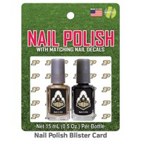 Purdue Boilermakers 2 Pack Nail Polish With Decal  - Team Color