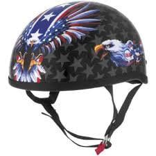 SKID LID HELMETS 646991 Skid Lid USA Flame Eagle Original Helmet (Multicolor, XX-Large)