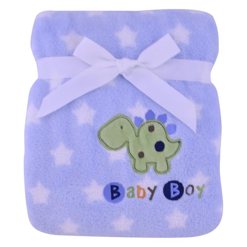 Garanimals Print Fluffy Fleece Blanket, Boy