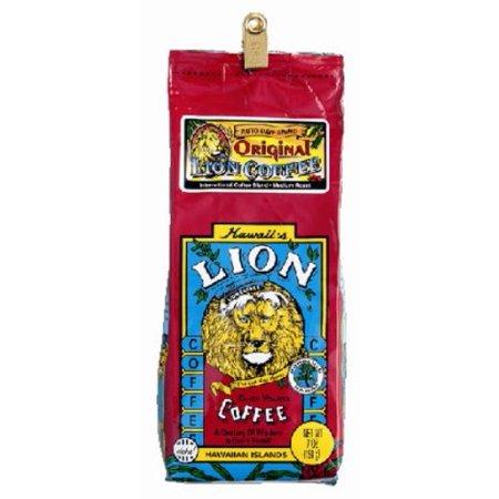 Lion Coffee Original Lion No Flavor 198G  Powder