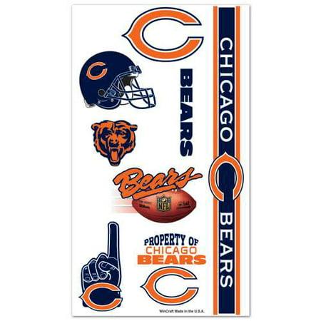 Chicago Bears Temporary Tattoos - Bear Paw Print Tattoo