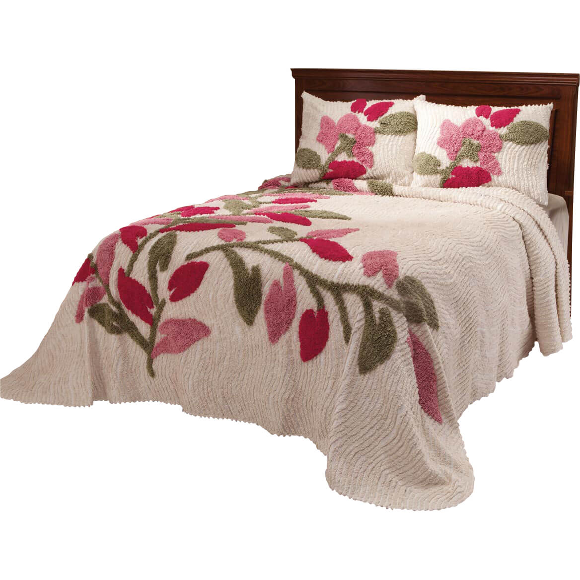 The Marilyn Chenille Bedspread by OakRidgeTM