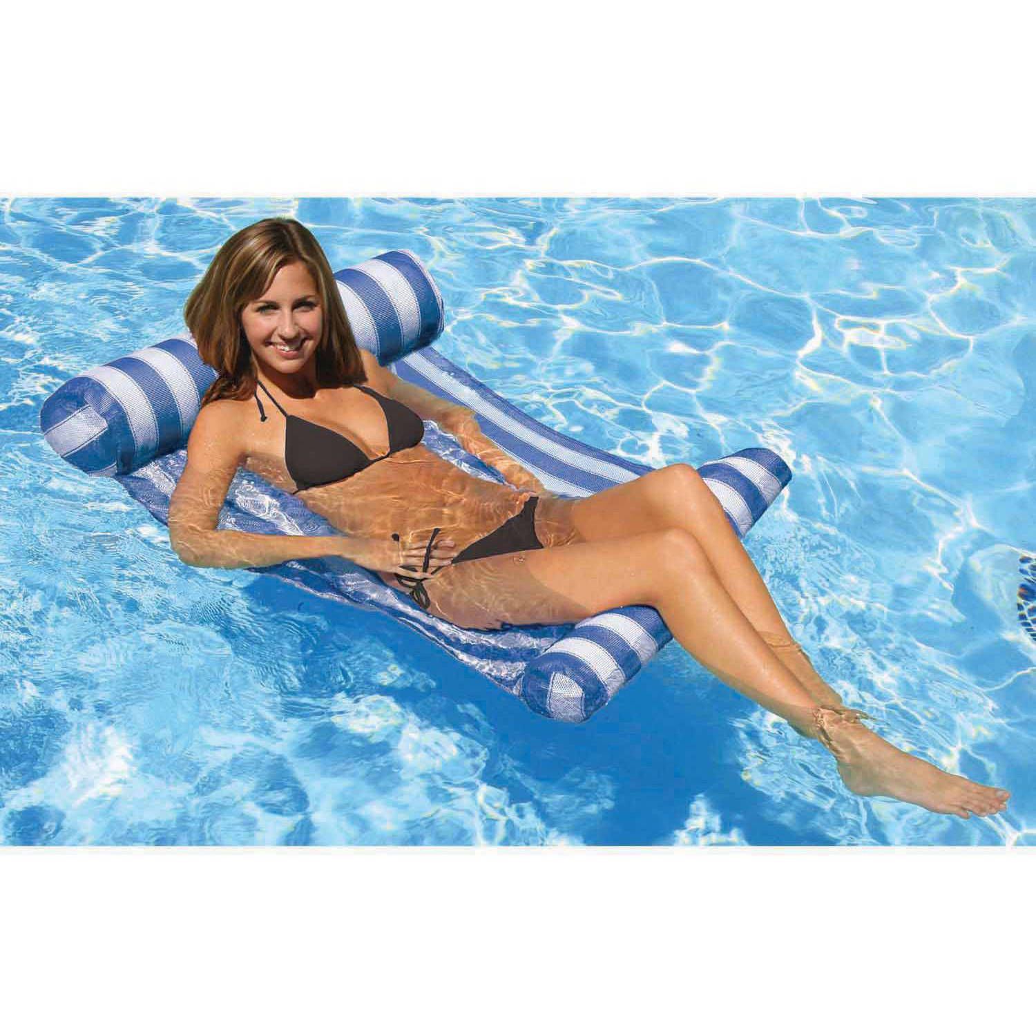 Poolmaster Blue Water Hammock Lounger