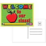 WELCOME TO OUR CLASS POSTCARDS 30PK