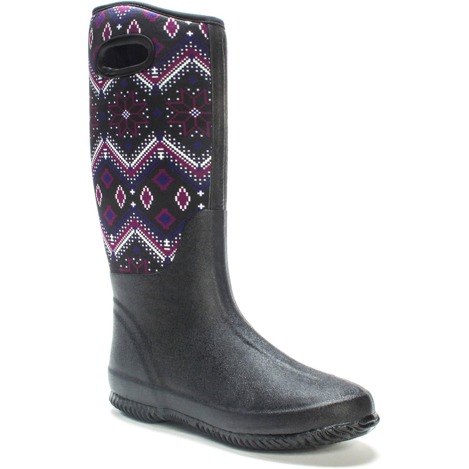 MUK LUKS Women's Karen Rainboot