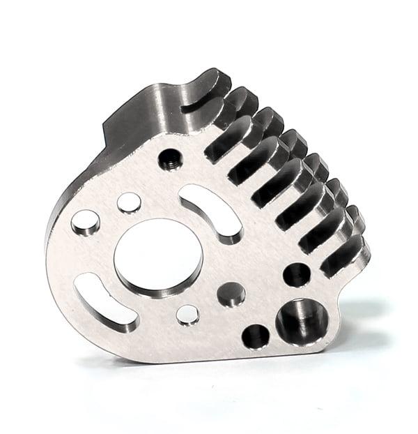 Integy RC Toy Model Hop-ups T3417SILVER Motor Heatsink for 1/16 Traxxas E-Revo VXL,Slash VXL,Summit VXL,Rally