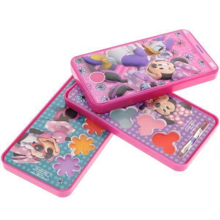 Disney Minnie Mouse Cell Phone Slide Out Lip Gloss Makeup Cosmetic Set Case](Disney Character Halloween Makeup)
