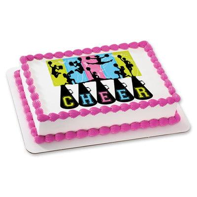 Cheerleading DecoSet Cake Decoration - Walmart.com