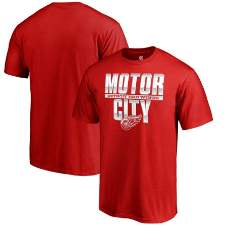 Detroit Red Wings Fanatics Branded Hometown Collection Local T-Shirt - Red