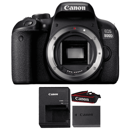 Canon EOS Rebel 800D / T7i 24.2MP Wifi NFC Digic 7 CMOS Digital SLR Camera Body ONLY - Fuji Digital Slr